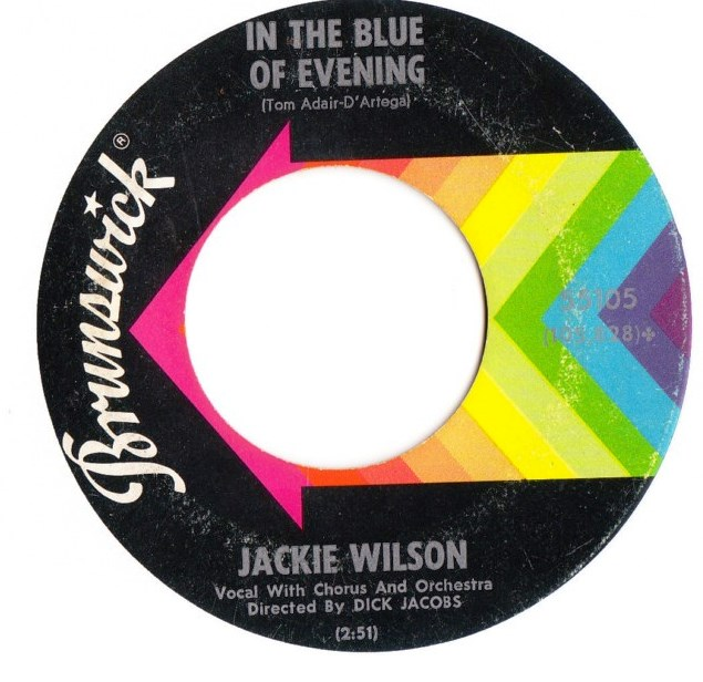 Jackie Wilson - Lonely Teardrops - Brunswick 55105 USA