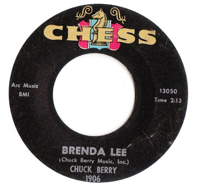 Chuck Berry - Brenda Lee / You never can tell - Chess 1906 USA