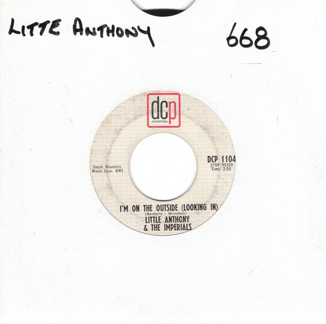 LITTLE ANTHONY IMPERIALS - PLEASE GO - DCP 1104 { 668