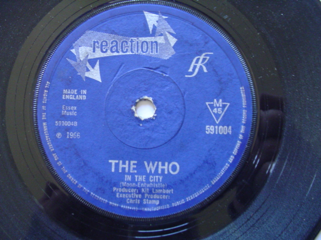 THE WHO - I'M A BOY - RECCTION 1966