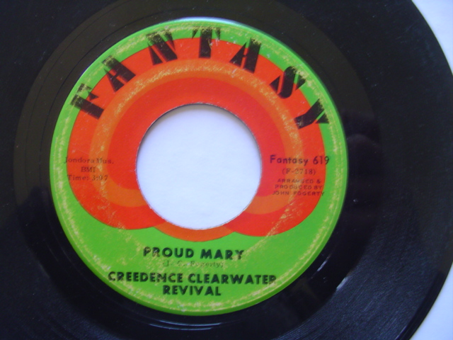 CREEDENCE CLEARWATER REVIVAL - PROUD MARY - FANTASY