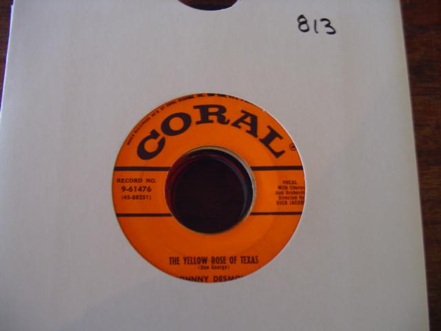 JOHNNY DESMOND - CORAL 9-61476 { 813