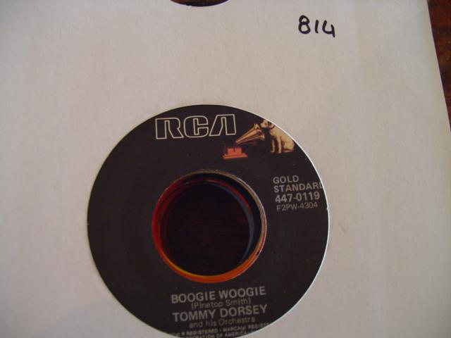TOMMY DORSEY - RCA 447- 0119 -{ 814