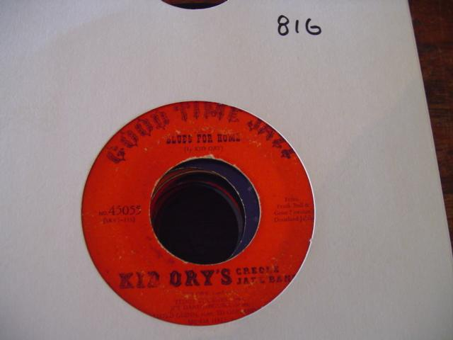 KID ORY'C CREOLE - GOOD TIME JAZZ 45055 { 816