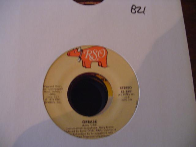 FRANKIE VALLI - GREASE - RSO 897 { 821