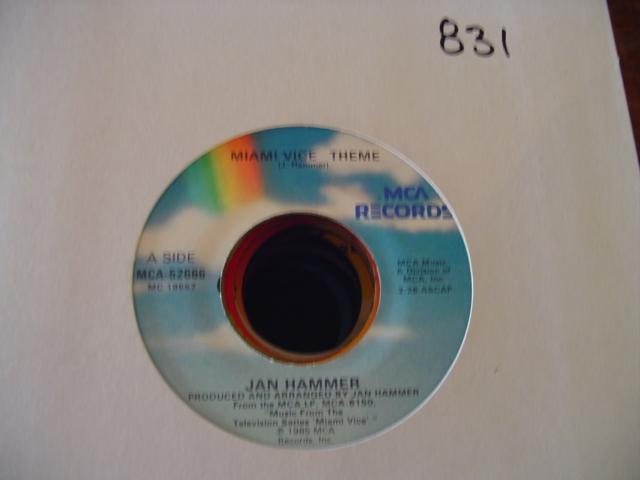 JAN HAMMER - MCA 52666 { 831