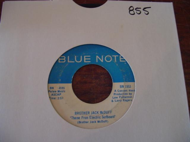 BROTHER JACK McDUFF - BLUE NOTE 1953 { 855