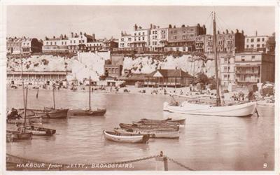Broadstairs Harbour - Real Photo