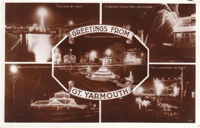 Great Yarmouth - Greetings From - Real Photo