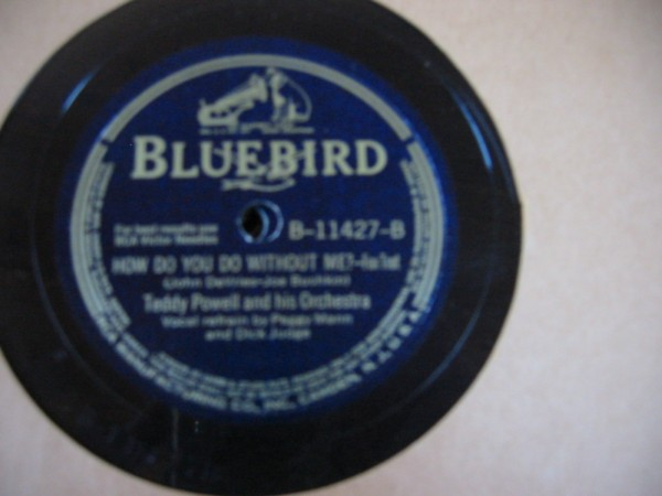TEDDY POWELL -- RCA BLUEBIRD B-11427 - { 617 }