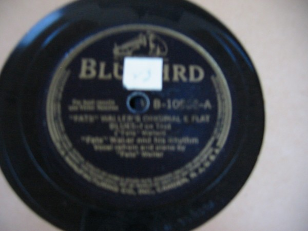 FATS WALLER -- RCA BLUEBIRD B-10858 - { 620 }