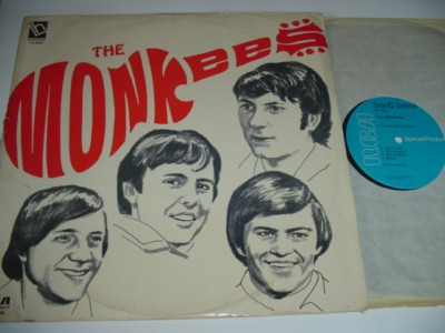 THE MONKEES - SELF TITLE - LAURIE HOUSE 2 LP { 486