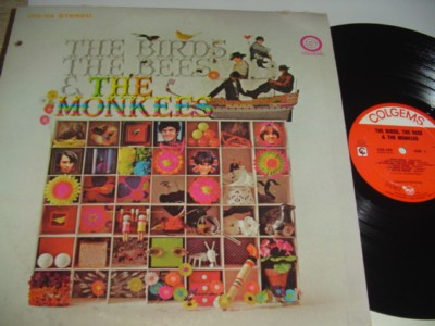 THE MONKEES - THE BIRDS THE BEES - COLGEMS { 485