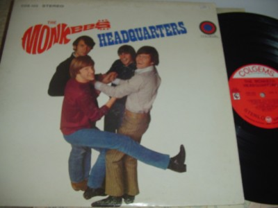 THE MONKEES - HEADQUARTERS - COLGEMS { 484