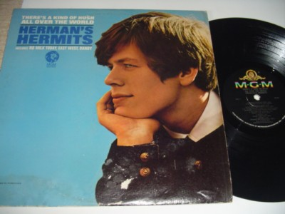 HERMANS HERMITS - KIND OF HUSH - MGM { 500