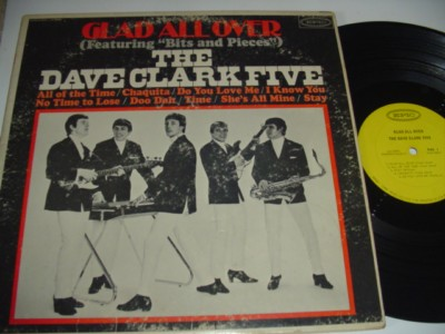 DAVE CLARK FIVE - GLAD ALL OVER - EPIC { 475