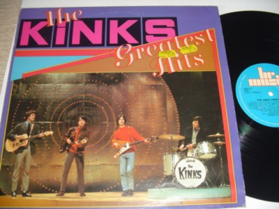 THE KINKS - GREATEST HITS - BR RECORDS { 499