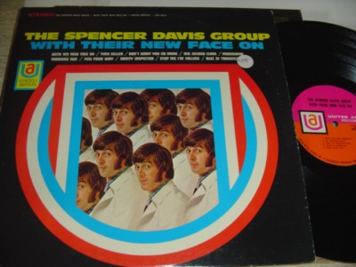 SPENCER DAVIS GROUP - WITH FACES ON - UA { 466