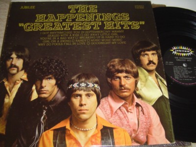 THE HAPPENINGS - GREATEST HITS - JUBILEE - 465