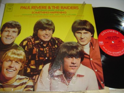 PAUL REVERE & RAIDERS - SOMETHING HAPPEN - COLUMBIA { 463