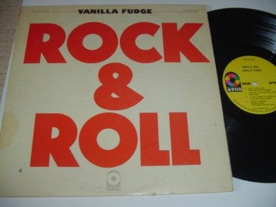 VANILLA FUDGE - ROCK & ROLL - ATCO SD33-303