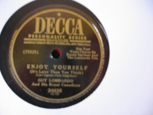 Guy Lombardo - Enjoy Yourself - Decca USA