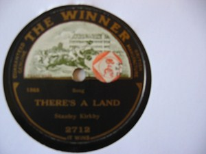 Stanley Kirkby - There's a land - Winner Records UK
