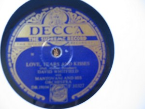 David Whitfield - Cara Mia - Decca UK