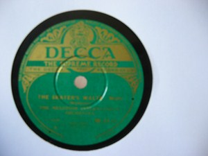 Melotone International Orchestra - Blue Danube - Decca Irish