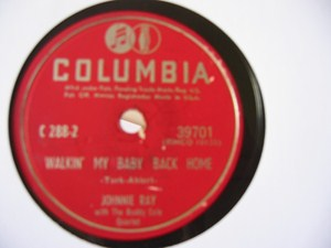 Johnnie Ray - Walkin' my Baby back home - Columbia USA