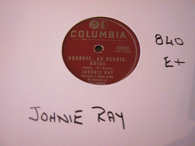 JOHNNIE RAY - COLUMBIA 40695 - 840