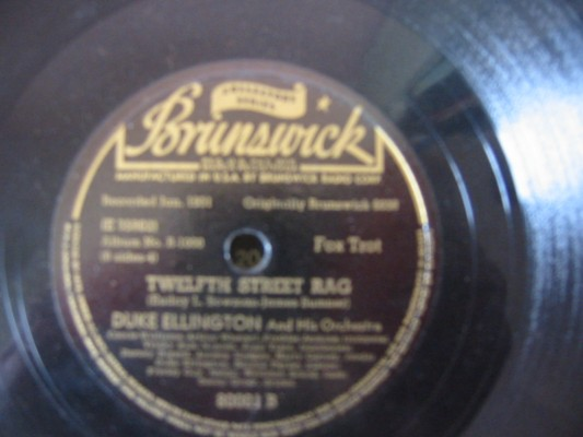 DUKE ELLINGTON - TWELFTH STREET RAG - BRUNSWICK 80001