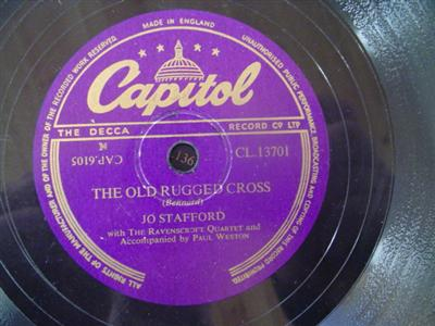 JO STAFFORD - IN THE GLOAMING - CAPITOL 13701 { 1953
