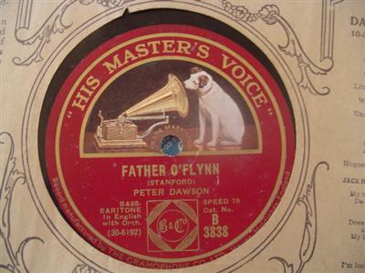 PETER DAWSON - FATHER O'FLYNN - HMV 3838 { 1943