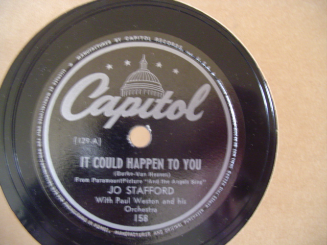 Jo Stafford - SOMEONE TO LOVE - CAPITOL 158