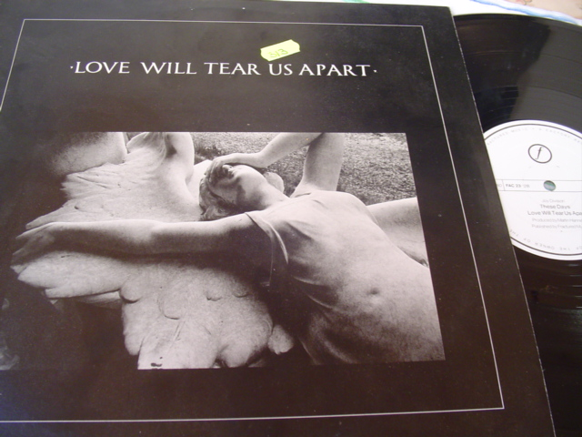 JOY DIVISION - LOVE WILL TEAR US APART - FACTORY 1980
