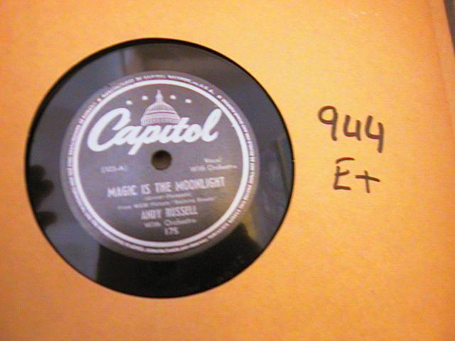 ANDY RUSSELL - CAPITOL 175 { 944