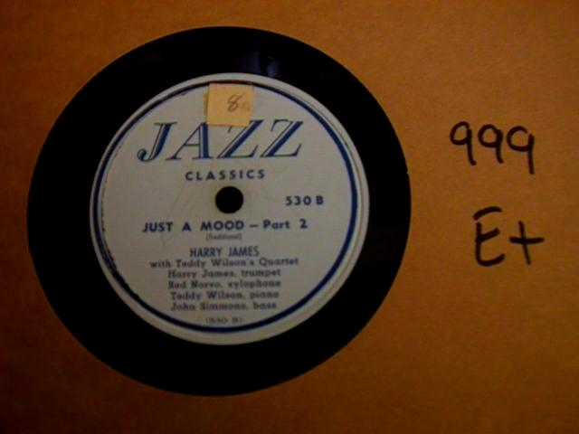 HARRY JAMES - JAZZ CLASSICS RECORDS 530 { 999
