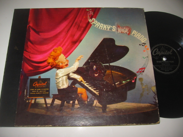 SPARKY'S MAGIC PIANO - HENRY BLAIR - CAPITOL SET { 35