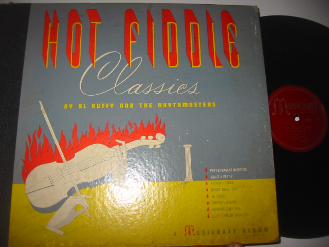 AL DUFFY & RHYTHMASTERS - HOT FIDDLE - MUSICRAFT SET { 40
