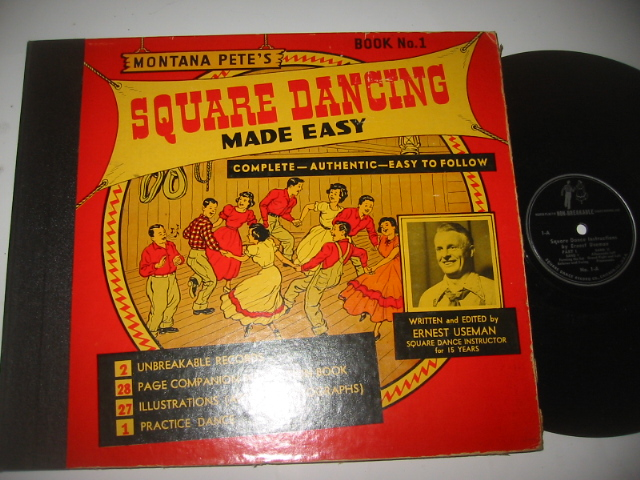 SQUARE DANCING MADE EASY - ERNEST USEMAN - { 41