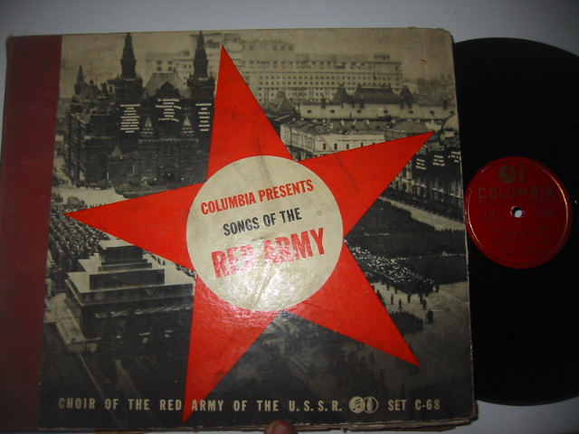SONGS OF THE RED ARMY - COLUMBIA SET { 43