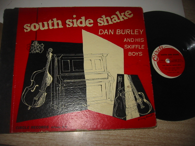 DAN BURLEY - SKIFFLE BOYS - CIRCLE SET { 47