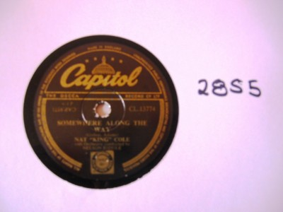 Nat King Cole - Walkin my Baby Back Home - Capitol UK
