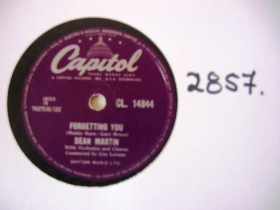 Dean Martin - Forgetting You - Capitol UK