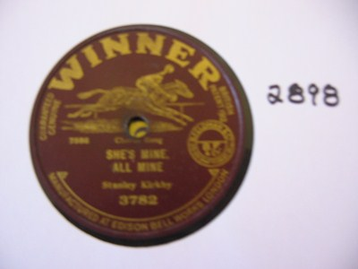 Stanley Kirkby - Shes mine all mine - Winner Records UK