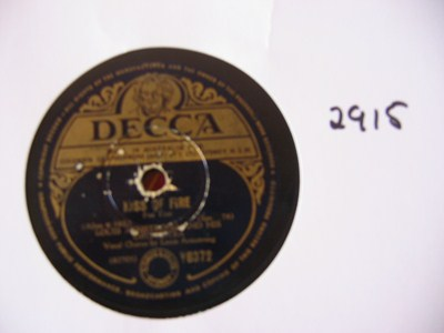 Louis Armstrong - Kiss of fire - Decca Australia