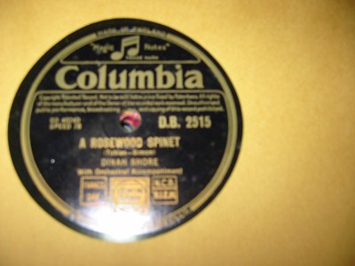 Dinah Shore - Once and for always - Columbia UK