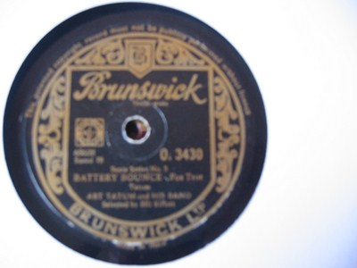 Artie Shaw - Lucille - Brunswick - Made in India