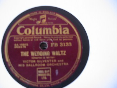 Victor Silvester - The Wedding Waltz - Columbia UK